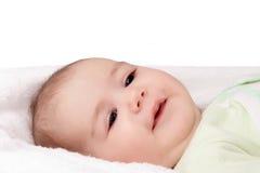 Newborn in the towel Stock Photos