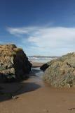 Newborough Beach,  Anglesey, Wales Stock Photography