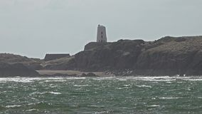 Newborough Beach on Anglesey in Wales - United Kingdom stock video footage
