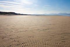 Newborough beach Royalty Free Stock Photos
