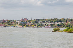 Newburgh Riverfront Royalty Free Stock Photos