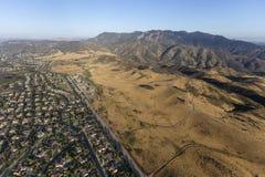 Newbury Park California Aerial Royalty Free Stock Photo