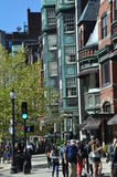Newbury Street in Boston Stock Photography