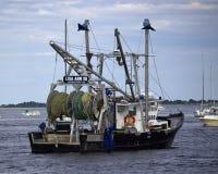 Newburyport Fishing Trawler Royalty Free Stock Image