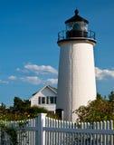 Newburyport Harbor (Plum Island) Lighthouse Royalty Free Stock Images