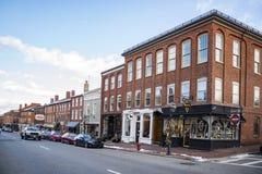 Newburyport, historic city in Essex County, Massachusetts Royalty Free Stock Image