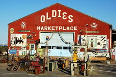 Newburyport, MA: Oldies Marketplace. Oldies Marketplace in Newburyport, Massachusetts is the place to go for all manner of antiques,collectibles, and treasures Stock Photography