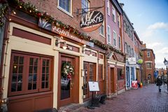 Newburyport, historic city in Essex County, Massachusetts Royalty Free Stock Photos