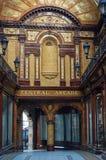 Newcastle - a arcada central no centro de cidade Imagens de Stock Royalty Free