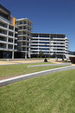 Newcastle Australia. Modern buildings on a nice sunny day at Honey Suckle - a redeveloped area of Newcastle Australia. An urban renewal project Stock Photo