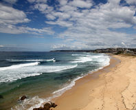 Newcastle Australia. A beautiful sunny day at Bar Beach, Newcastle Australia. Popular local attraction. Newcastle is Australia's second oldest city and well royalty free stock photography