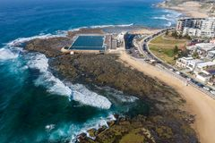 Newcastle Baths and Cowrie hole stock photography