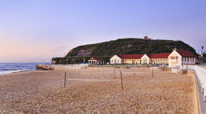 Newcastle beach baths Royalty Free Stock Photo