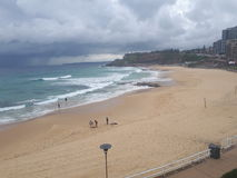 Newcastle Beach NSW Australia Stock Photo