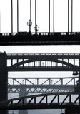 Newcastle bridges Royalty Free Stock Photos