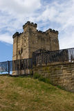 Newcastle castle. The new castle in Newcastle, England Stock Image