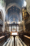 Newcastle Cathedral, Cathedral Church of St Nicholas Nave view f Royalty Free Stock Photos