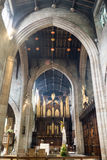 Newcastle Cathedral, Cathedral Church of St Nicholas Organs B. England, Newcastle - 24 April 2016: Newcastle Cathedral, Cathedral Church of St Nicholas Organs B Stock Photo