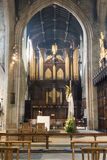 Newcastle Cathedral, Cathedral Church of St Nicholas Organs A Royalty Free Stock Images