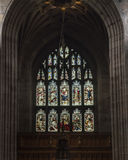 Newcastle Cathedral, Cathedral Church of St Nicholas Stained Gla Royalty Free Stock Images