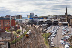 Newcastle Central Station royalty free stock image
