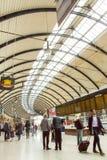 Newcastle centralstation royaltyfria foton