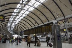Newcastle centralstation royaltyfri foto