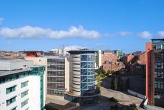 Newcastle Cityscape Arkivfoto