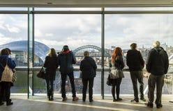 Newcastle cityscape Stock Image