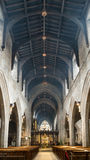 Newcastle domkyrka, domkyrkakyrka av St Nicholas Altar Nave Royaltyfria Bilder