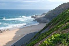 Newcastle falezy i wybrzeże, Australia Zdjęcie Royalty Free