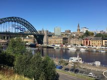 Newcastle, Inghilterra Fotografia Stock Libera da Diritti