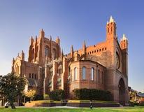 Newcastle katedry północny wschód obraz royalty free
