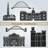 Newcastle Landmarks Royalty Free Stock Photography