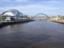 Newcastle na Tyne, Anglia, Zjednoczone Kr?lestwo M?dry Gateshead, koncertowy miejsce wydarzenia i tak?e centre dla muzykalnej edu obrazy stock