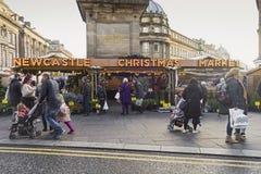 Newcastle na Tyne, UK 24th 2018 Listopad Kupujący przy Chris fotografia stock