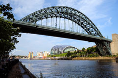 Newcastle nach Tyne Stockfotografie