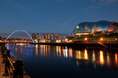Newcastle op de Tyne Royalty-vrije Stock Afbeeldingen