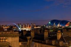 Newcastle op de Tyne Stock Foto's
