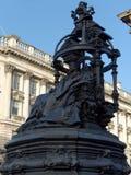 NEWCASTLE PÅ TYNE, TYNE OCH WEAR/UK - JANUARI 20: Staty av Q Arkivbild