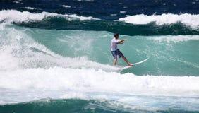 Newcastle Professional Surfer Stock Photos
