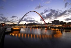 Newcastle Quayside Stock Photography