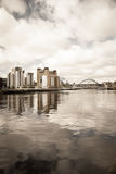 Newcastle Quayside Royalty Free Stock Photography