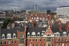 newcastle rooftops Arkivbild
