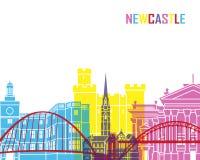 Newcastle skyline pop Stock Photo