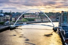 Newcastle sobre Tyne Reino Unido Imagenes de archivo