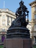 NEWCASTLE SOBRE TYNE, TYNE Y WEAR/UK - 20 DE ENERO: Estatua de Q imagen de archivo libre de regalías