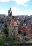 Newcastle sopra Tyne Aerial Photo Immagine Stock