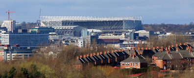 Newcastle Stadium Royalty Free Stock Photo