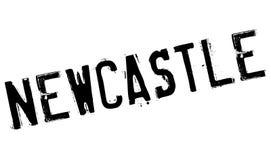 Newcastle-Stempelgummischmutz Stockbild